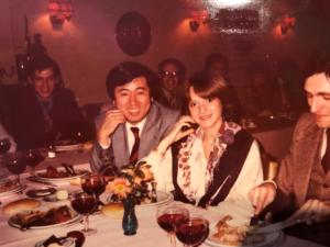 カネカベルギー顧客接待1975年頃